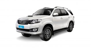 Toyota Fortuner or similar